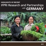 Highlights of Recent IFPRI Research and Partnerships with Germany